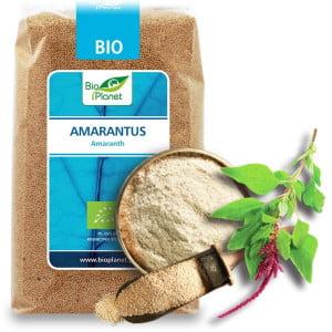 Amaranth RAW fără Gluten! (амарант) BIO 500g - BioPlanet