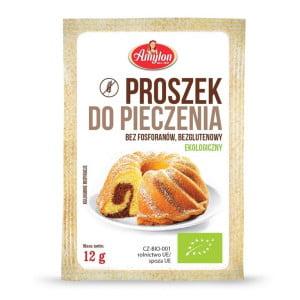 Praf de Copt, fără Gluten! (порошок для выпечки) BIO 12g - Republica Cehă