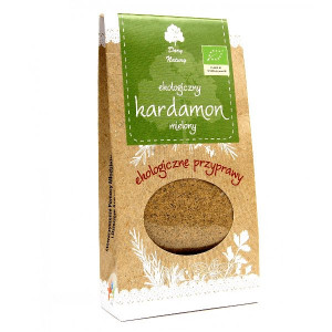 "Cardamom pulbere (кардамон) BIO 50g ""Regina Condimentelor a Indiei"""