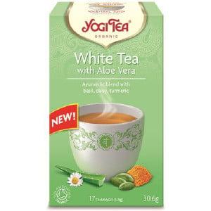 Ceai Alb cu Aloe Vera BIO - Yogi Tea Germania
