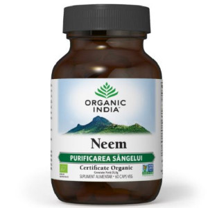 Neem | Antibiotic și Antifungic Natural BIO – 90 CAPS VEG