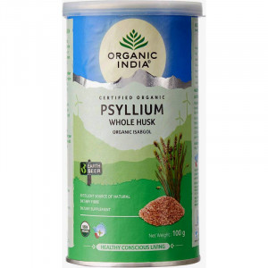 Tărâțe de Psyllium BIO, 100g - ORGANIC INDIA