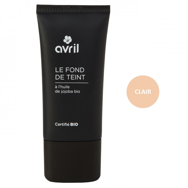 Fond de ten BIO Clair 30ml - Avril