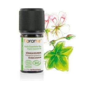 Ulei esențial Geranium bourbon/rosat BIO 5ml - Florame