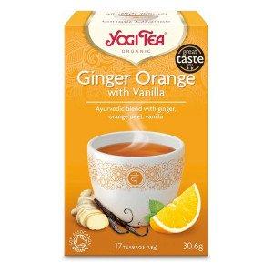 Ceai Ghimbir, Portocale si Vanilie BIO - Yogi Tea Germania